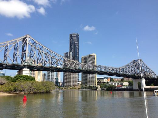 The Story Bridge - Brisbane's famous icon. Image by Erwin Cabucos