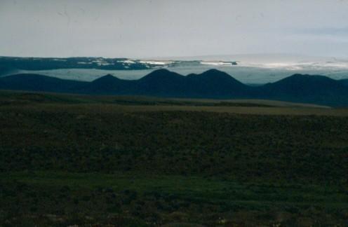 Langjoekull Glacier from F35.
