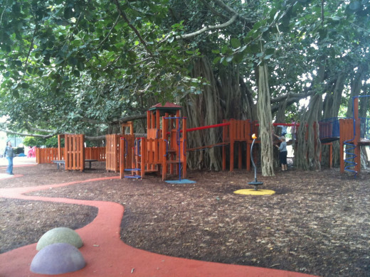 New Farm Park Children's Playground. Image from parentingfuneveryday.com