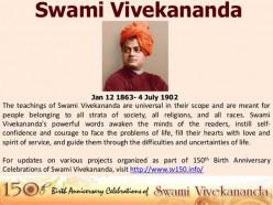 Swami Vivekananda's Inspirational Quotes