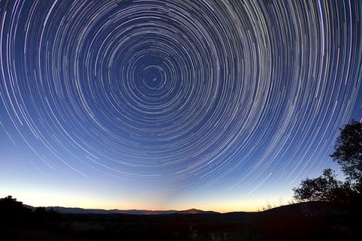 Star Trails (Long Exposure)