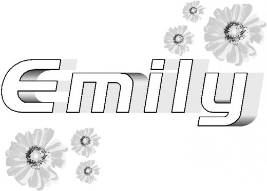 emily coloring pages - photo#5