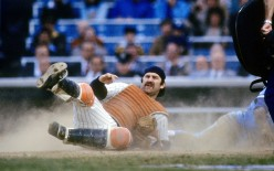 Thurman Munson (1947-1979) - One of the toughest guys to ever play the game.