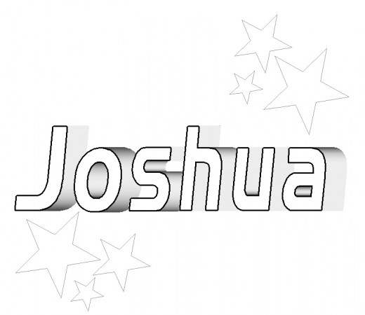 joshua and gibeonites coloring pages - photo#33