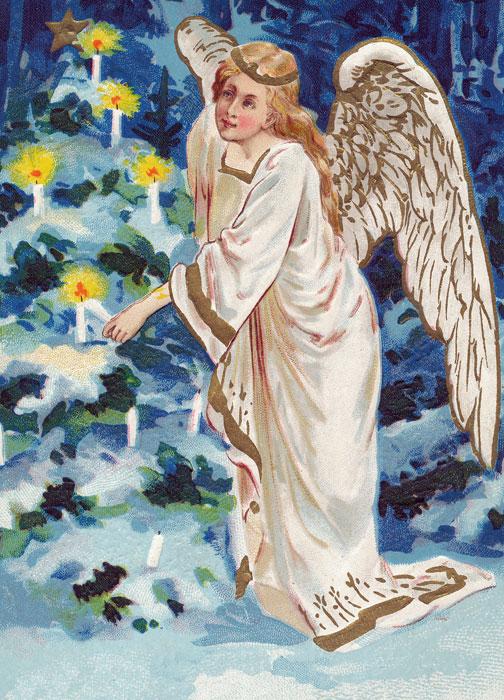 Christmas angel.