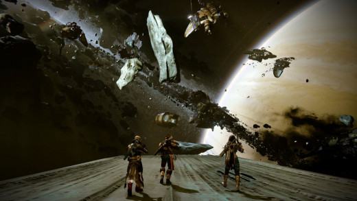A view from the new world area, the Dreadnought