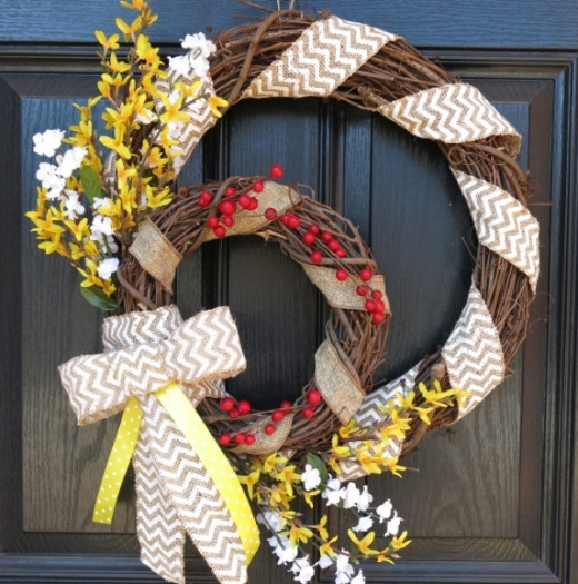 How to Make a Double Grapevine Wreath for Every Season