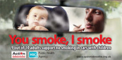 """This has been a huge campaign and bitterly fought by the health authorities and concerned parents, etc., on the one side, and guess who on the other! If you said """"BIG TOBACCO"""" your smokes will arrive soon!"""
