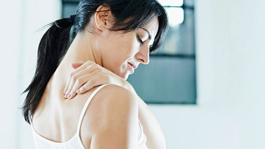 In female heart attacks, pain is often radiating in the shoulder and jaw.