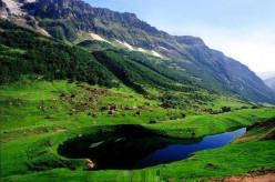 Beautiful Ansoo Lake of Pakistan