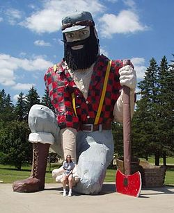 Paul Bunyan, Akeley
