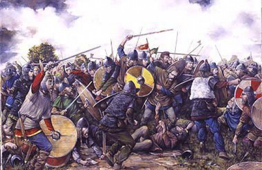Danes and Saxons lay into one another in the aftermath of the Great Heathen Army landing on Wessex shores and crossing from Mercia
