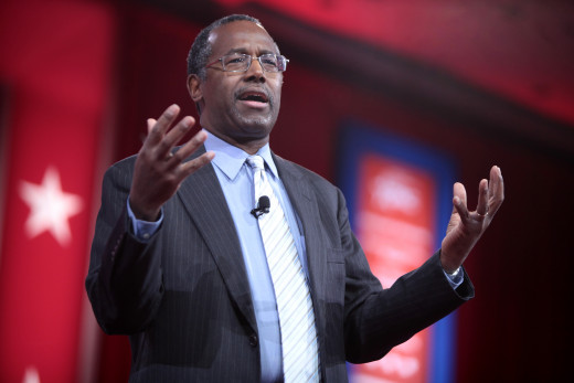 Dr. Ben Carson speaks at the 2015 CPAC.