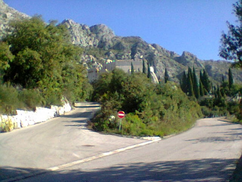 A  view of the castle close to my home.