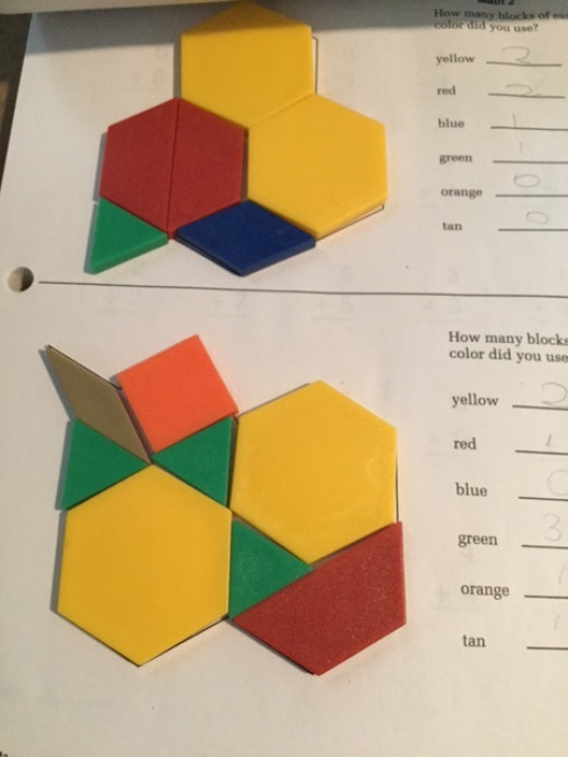 You'll need the Saxon Math manipulative kit to effectively use the program