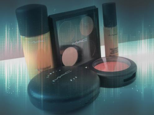 Foundation, Concealer, Setting Powder, Blush & Neutral Eye shadows