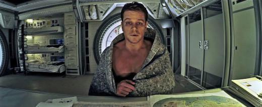 Mark Watney, played by Matt Damon