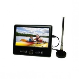 Axion AXN-8701 7-Inch Widescreen Portable Handheld TV with Built-In Tuner (Black)