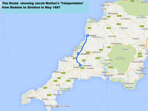 Jacob Mutton's 30 mile teleportation across Cornwall