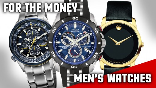 Looking for a good men's watch that makes a statement and doesn't break the bank? Here are a few handsome options at various price points.