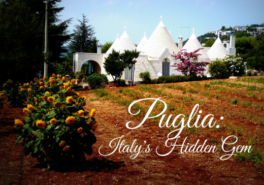 Puglia is a picturesque paradise rarely visited by non-Italian tourists.