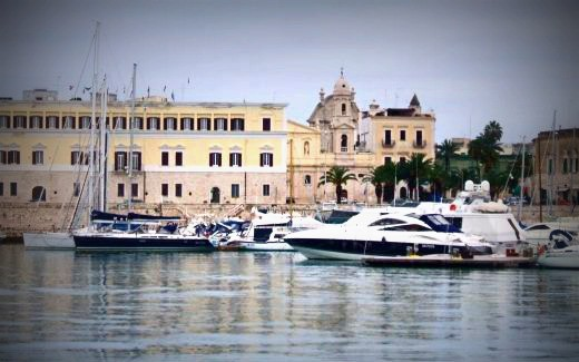 Trani's harbor