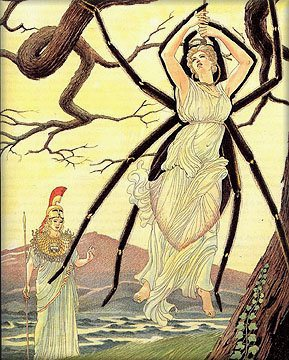 Arachne the Goddess of Spiders