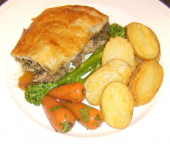 Venison and Guinea Fowl Game Pie Recipe