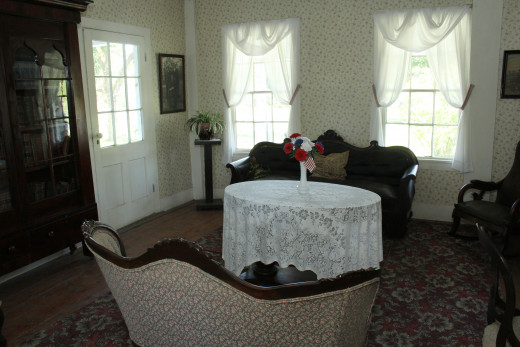 The room where guest and would socialize