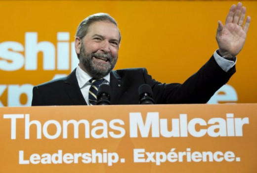 Tom Mulcair, Leader of the NDP, has stated that he won't be bound by the TPP agreement.