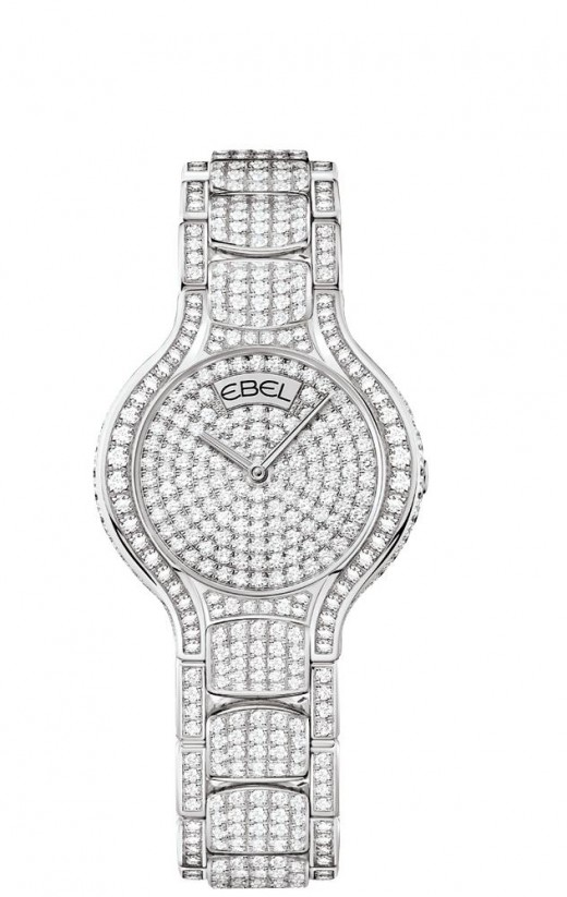 Ebel Beluga Paved Diamonds