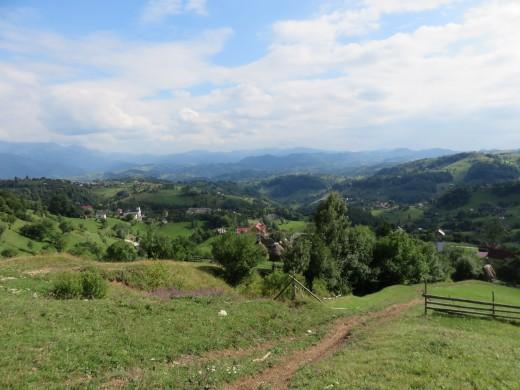 Mountain views, Măgura, Carpathian Mountains, Transylvania, Romania