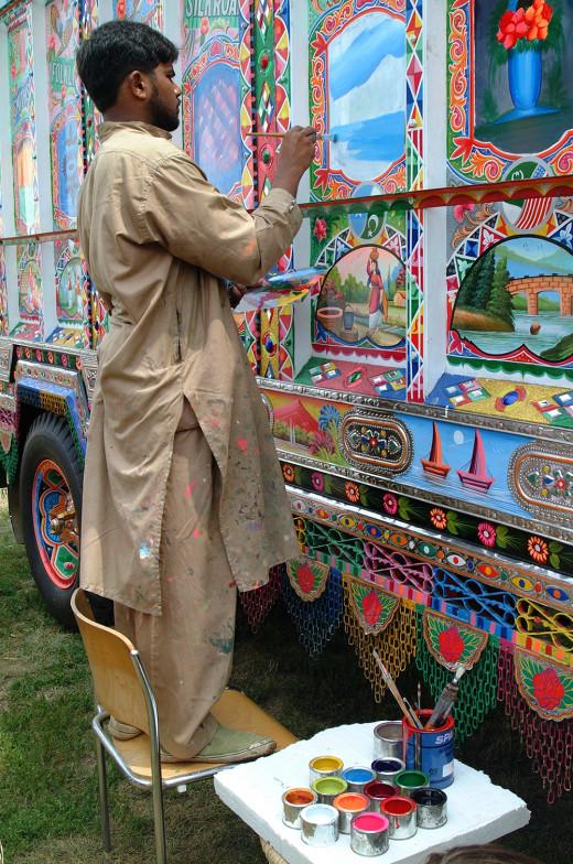 truck artist