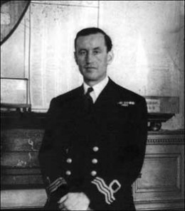 Lt Commander Ian Fleming was instructed to take the coding machine and books to the nearest English port ASAP