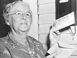 Ida Mae Fuller - The recipient of the first Social Security Check