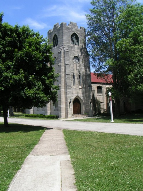 The Chapel at Howe Military Academy in Howe, Indiana
