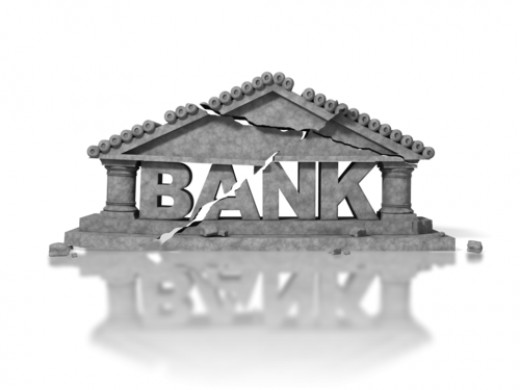 Banks Crumbling Before Our Eyes?