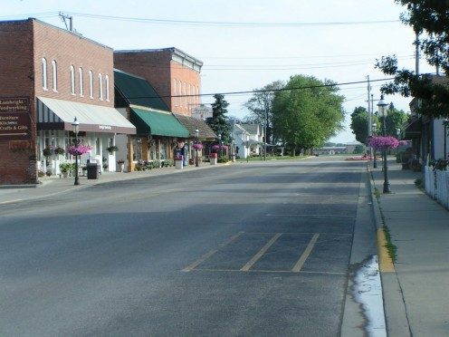 Downtown Shipshewana, Indiana