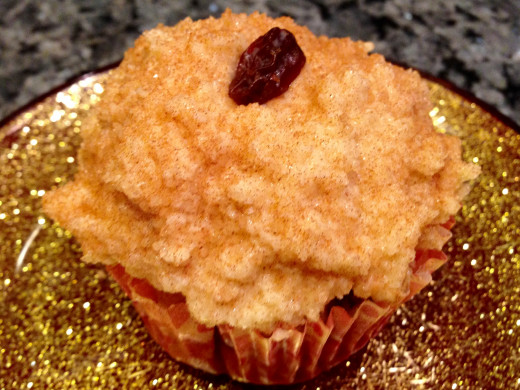 Applesauce Cupcake with Maple Mascarpone Frosting by Molly Brose