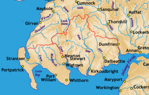 The 'Isle' of Whithorn, Galloway