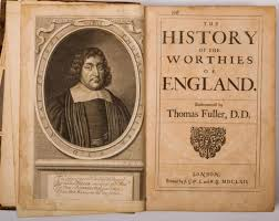Fuller's Worthies of England