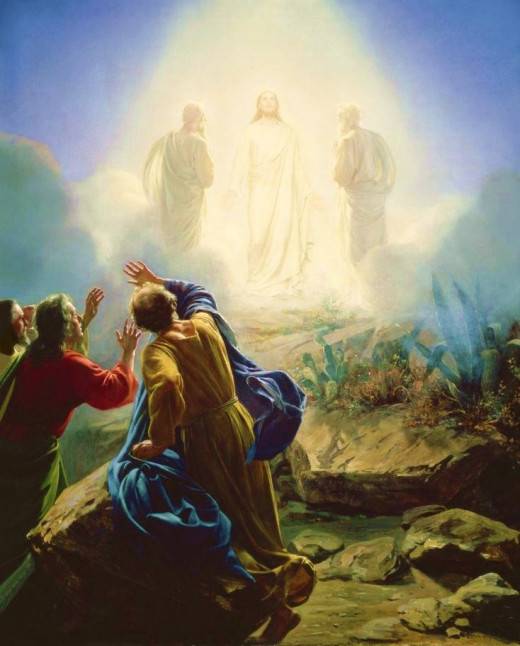 The Transfiguration of Jesus by Carl Heinrich Blochi
