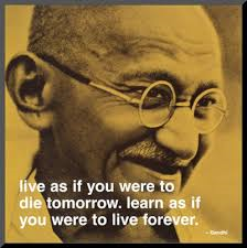 Mahatma Ghandi, one of the world's greatest leaders