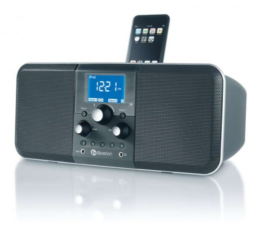 Boston Acoustics HDUOIMDNT Horizon Duo-I System For Ipod(R) With Am/Fm Radio (Midnight)