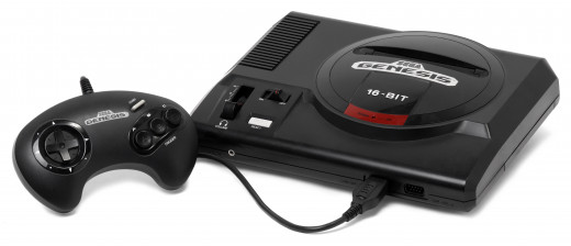 Model 1 Genesis console.