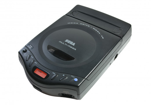 The Sega Multi-Mega (Mega CD + Mega Drive)