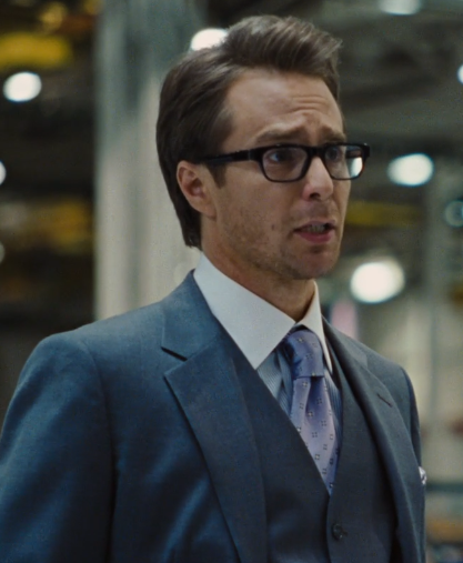 """""""Oh, well nice to meet Ms. Apricot. I'm Justin Hammer."""""""