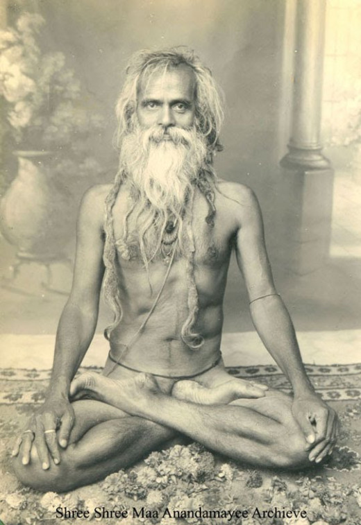 The Indian Form of Meditation