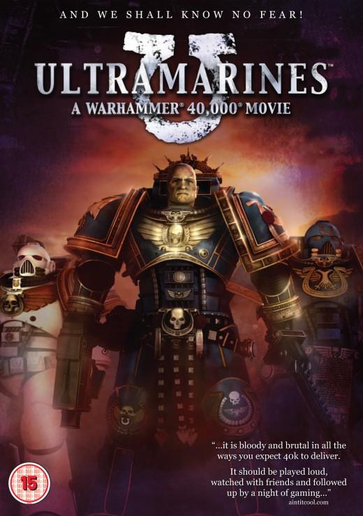 """Ultramarines"" DVD cover, 2010"