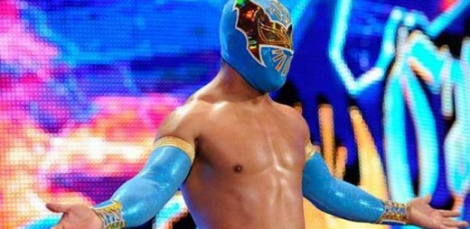 Urive as Sin Cara in WWE